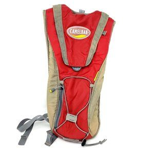 Camelbak Red Gray Classic Hydration Running Pack